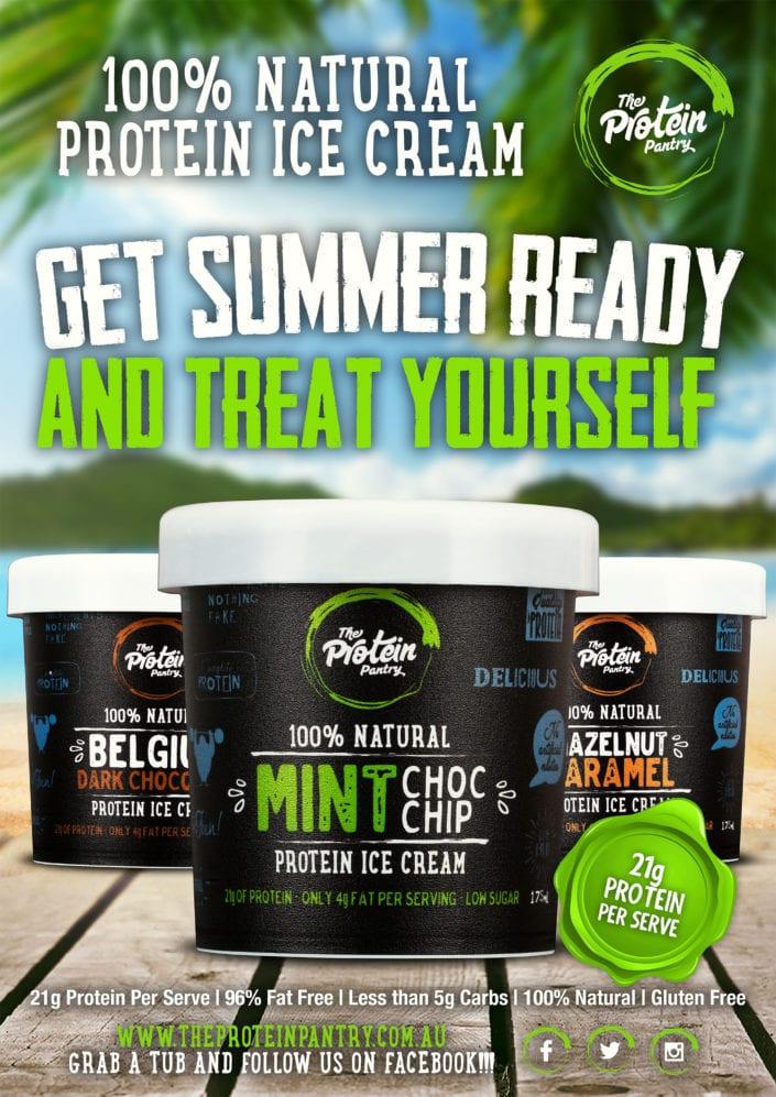 Protein Pantry Ice Cream Photography