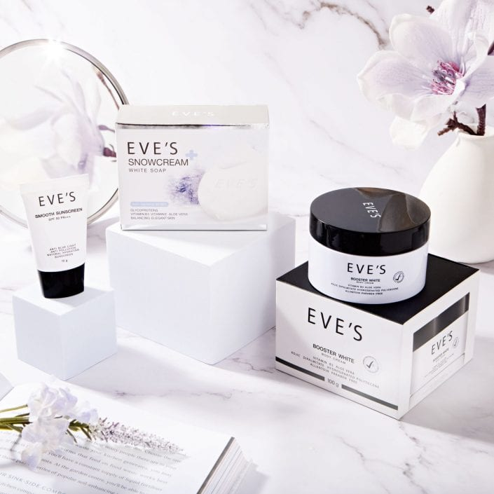 Eve Skincare Product Photography