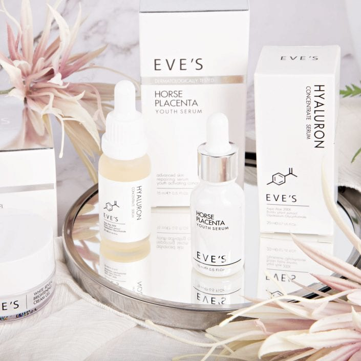 Eve's Skincare Products