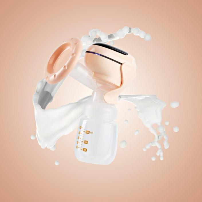 Caador electronic breast pump