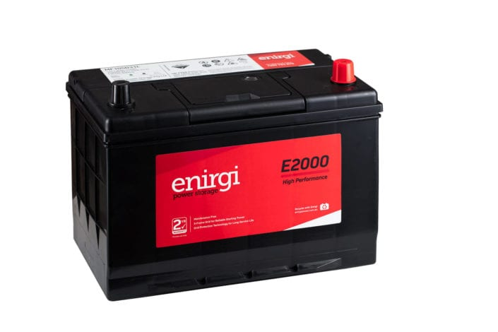Automotive Battery Product Photography