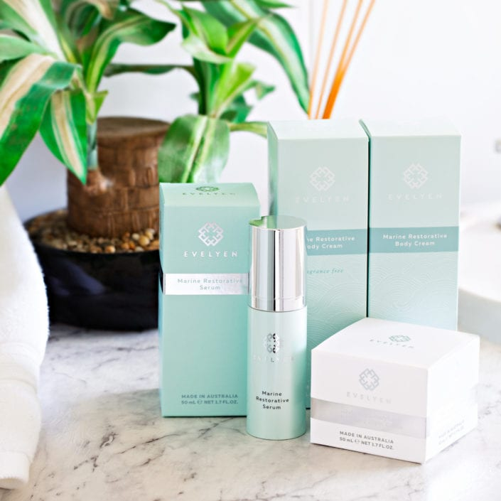 Skin care product photography lifestyle