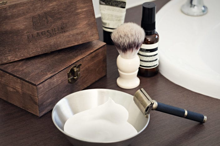 Flagship Mens Razors Product Photography
