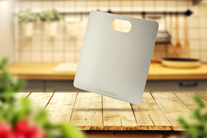 Stainless Steel Chopping Board Photo