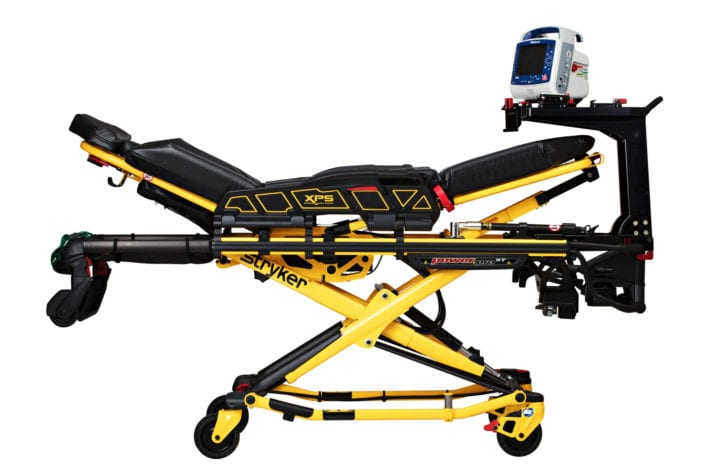 Stryker Medical Stretcher with Stretcher Bridge