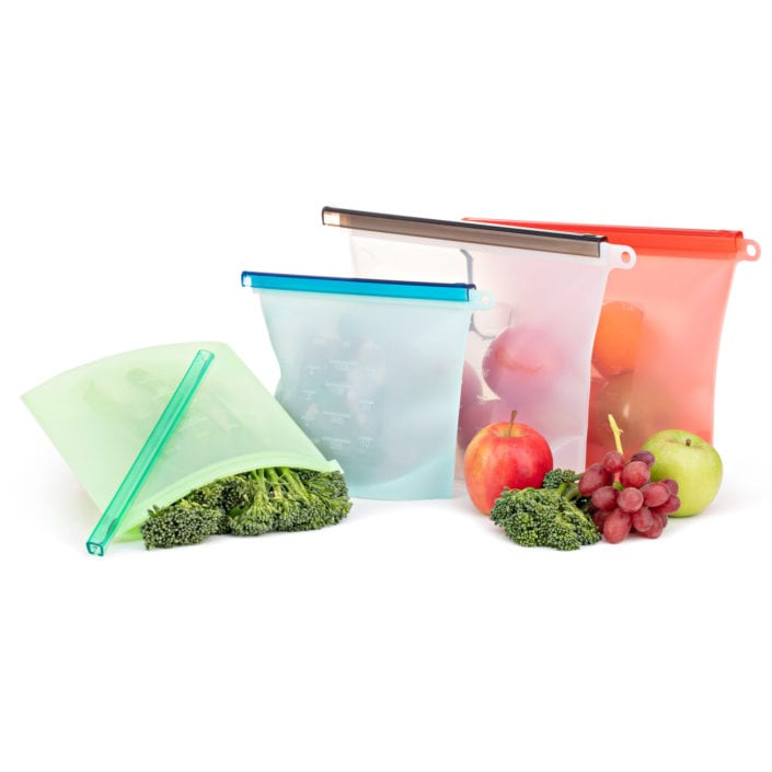 Product Photography Amazon Clear Reusable Bags