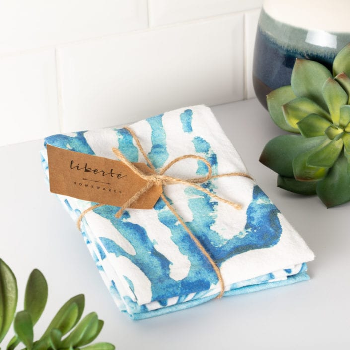 Liberte Tea Towels Product Photography