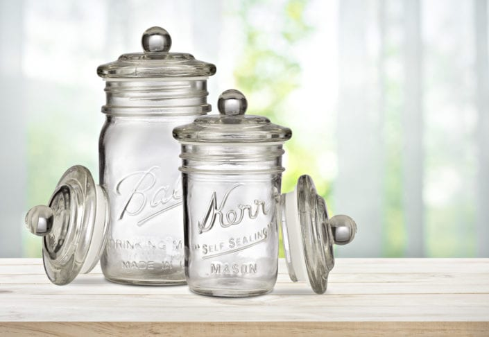 Mason Jar product photography amazon