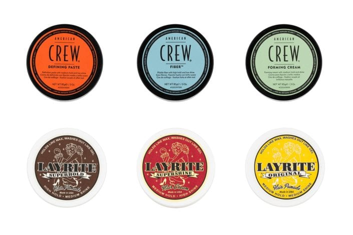 Mens haircare product photography