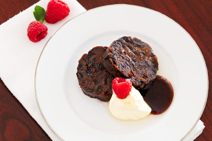 xmas pudding lifestyle photography