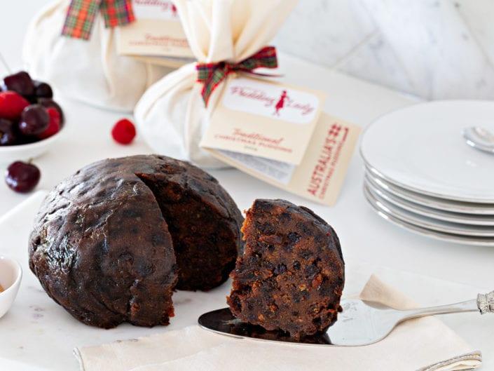 christmas cake photography
