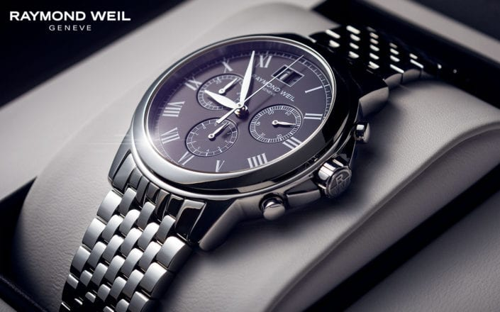 Raymond Weil Chronograph Watch Photography