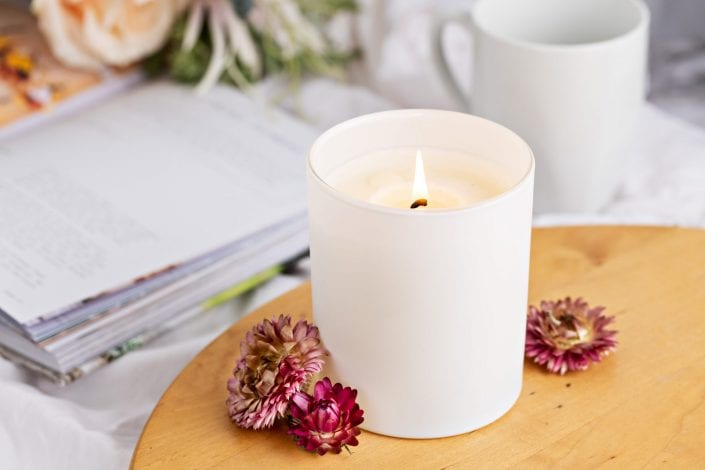 Scented Candle Product Photography Brisbane
