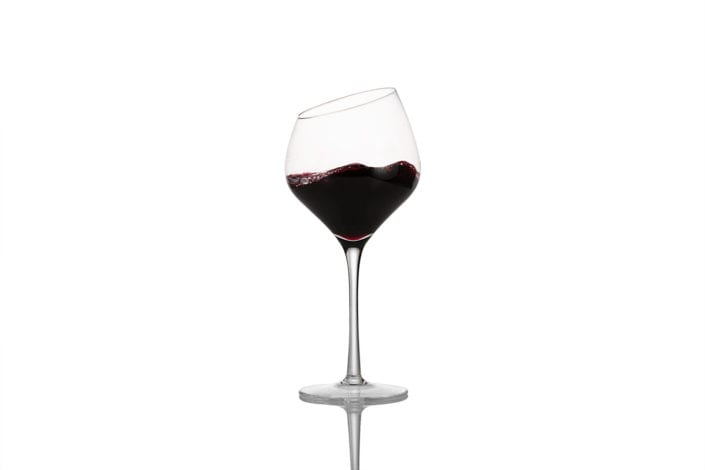 Red Wine Glass Photo