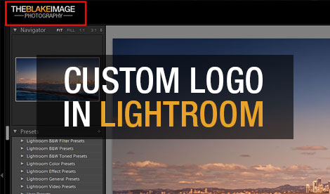 Customize Adobe Lightroom using Identity Plates