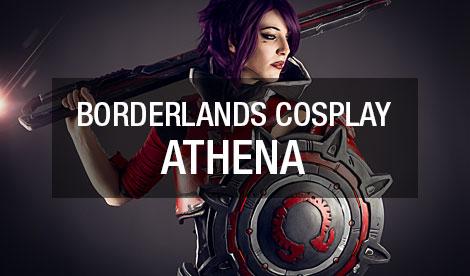Athena Borderlands Cosplay