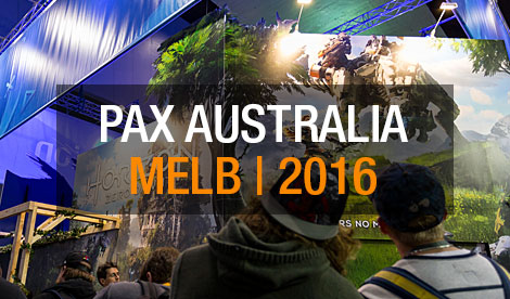 PAX Australia 2016 Event Photos