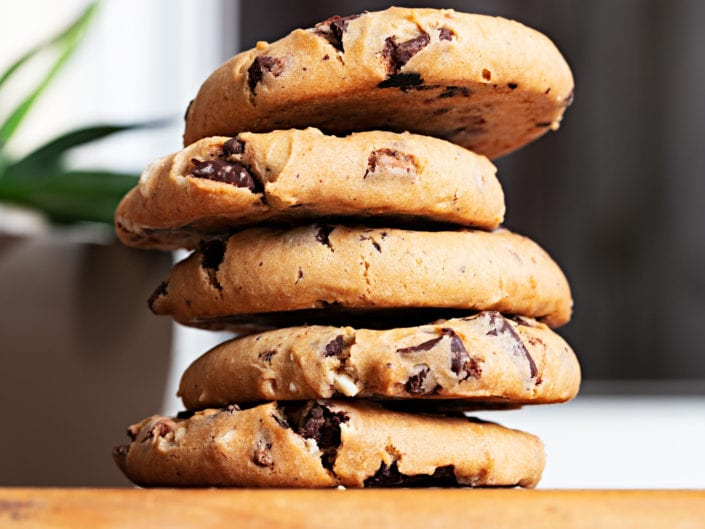 photo of delicious cookies