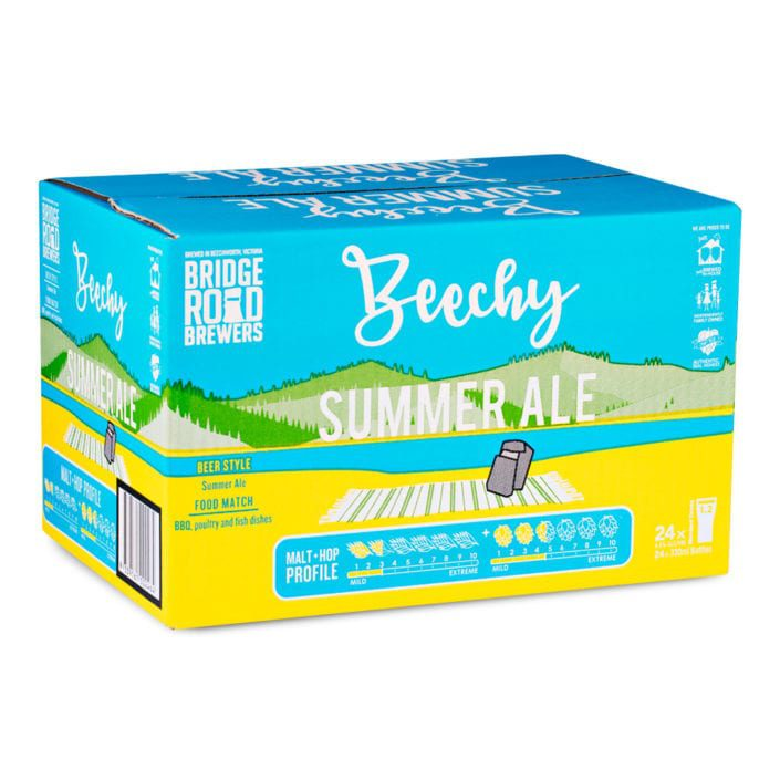 Bridge Road Brewers Summer Ale Carton