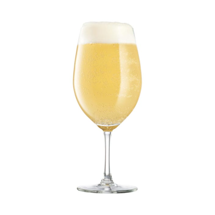 Beer Glass Photography on White Background