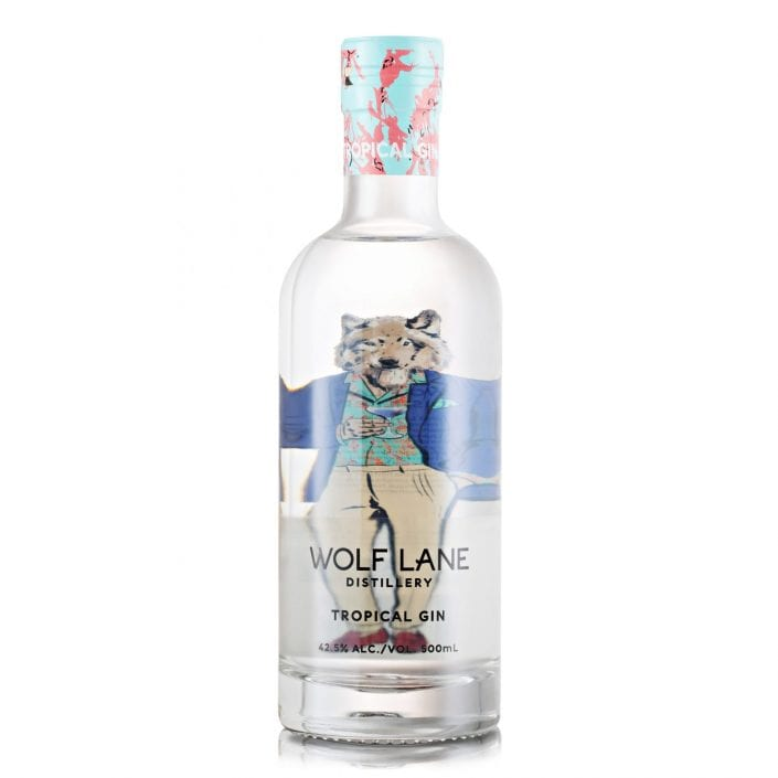 Wolf Lane Tropical Gin Photography