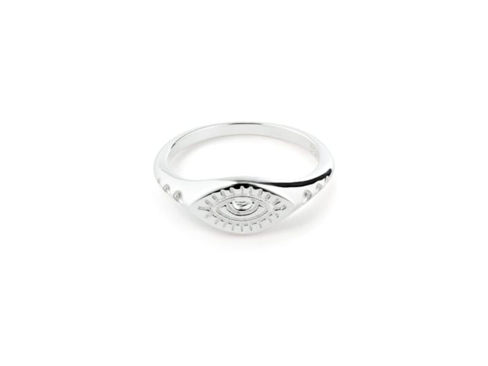 Silver Ring Jewelry Photography
