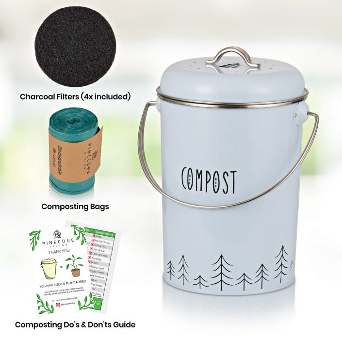 Compost Bin Product Photography