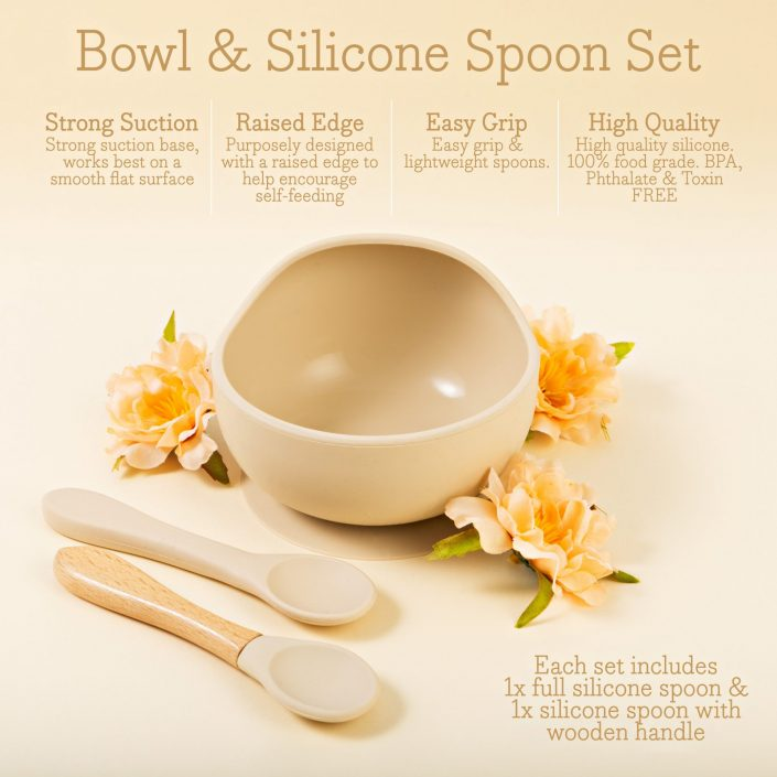Silicone Bowl Infographic